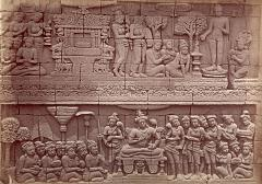 KITLV 90038 - Isidore van Kinsbergen - Reliefs on the Borobudur near Magelang - Around 1900.tif
