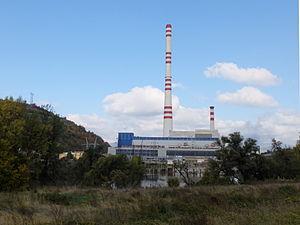 Kakanj Power Station - Image: Kakanj (Kraftwerk)