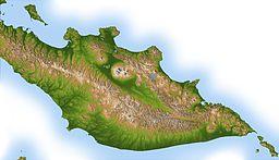 Topografio de la duoninsulo Kamĉatko