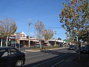 Kangaroo Flat, Victoria - Main street
