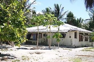 Kanton Island - House on Kanton Island, 2008.