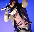Kanye West at the O2 Arena 2007 5.jpg