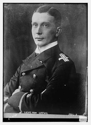Zeppelin LZ 54 - Kapitänleutnant Odo Löwe, circa 1915