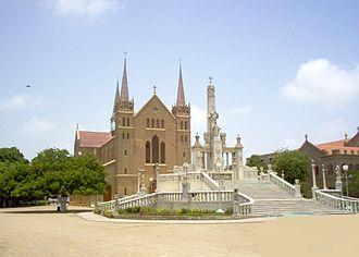 Religion in Pakistan - Saint Patrick's Cathedral, Karachi.