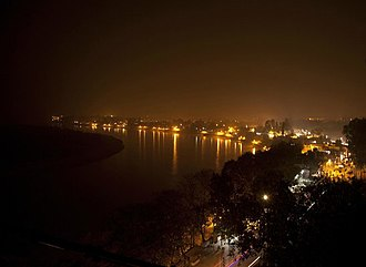 Jalpaiguri - Image: Karala riverside at night