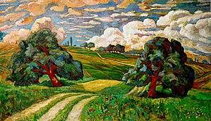 Edvard Diriks - Image: Karl Edvard Diriks Apres l'orage (1904)