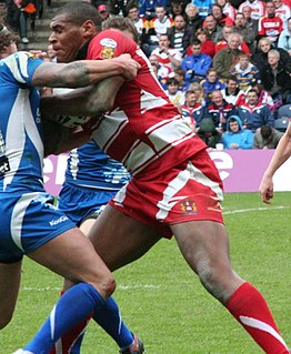 English rugby league and rugby union footballer