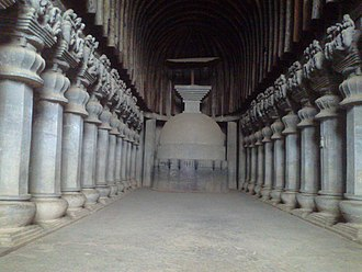 Pune district - The Great Chaitya at Karla Caves