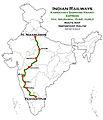 Karnataka Samparkkranti Express (via Hubli) Route map.jpg