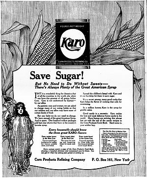 Corn syrup - Karo advertisement, 1917.