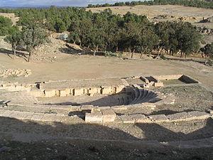 Kasserine - Roman Ruins at Kasserine.