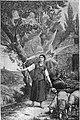Kath. Illustratie 1894 Jeanne d'Arc écoute les Voix, d'après par Lenepveu, Panthéon Paris.jpg