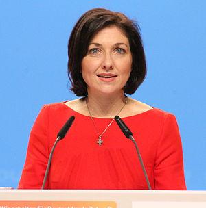 Katherina Reiche - Image: Katherina Reiche CDU Parteitag 2014 by Olaf Kosinsky 2