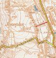 Katowice - ulica Gnieznienska w Katowicach na mapie z roku 1939.jpg