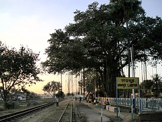 Labhpur - Labhpur Narrow gaugue railway station