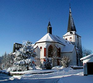 Auw bei Prüm - Church St. Peter and Paul in winter