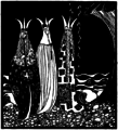 Kay Nielsen - East of the sun and west of the moon - the three princesses of whiteland (2).png