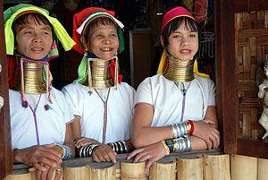 Kayan women Burma 1