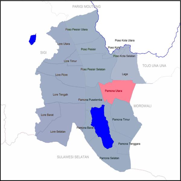 Pamona Utara, Poso - Wikipedia bahasa Indonesia ...