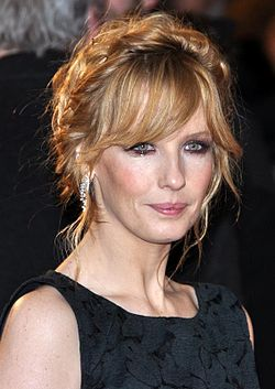 Kelly Reilly i Paris på den franska premiären av Flight 2012.