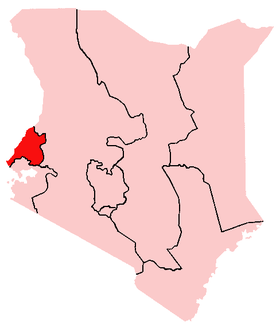 Image illustrative de l'article Province occidentale (province du Kenya)
