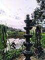Kerala Temple Kalvilakku and Kulam.jpg