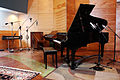 Keyboards - Rhodes piano, Leslie speaker with microphone, Hammond C3, Grand piano with microphones - Studio A, In Your Ear Studios.jpg