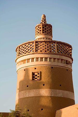 Najafabad County - Image: Kharun Dovecote Najafabad