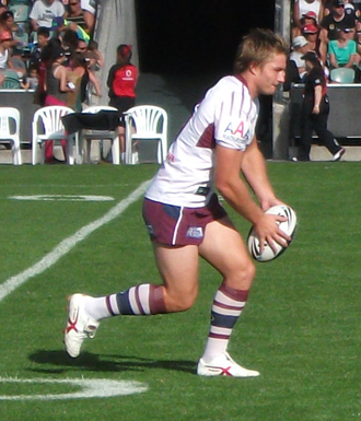 Kieran Foran - Foran playing for Manly in 2011