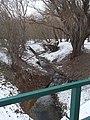 Kilátás a Paprikás-patak feletti gyalogos hídról, 2019 Pesthidegkút-Ófalu.jpg