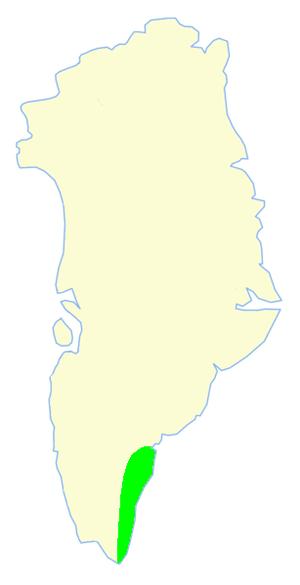 King Frederick VI Coast - Limits of King Frederick VI Coast.