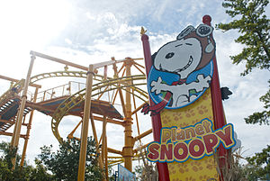 Kings Island - Entrance to Planet Snoopy