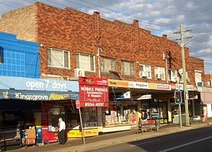 Kingsgrove, New South Wales - Kingsgrove Road (north)
