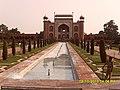 Kkm entrance gate Taj Mahal agra India 5.jpg