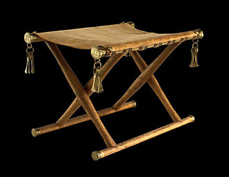 Buxtehude - Reconstruction of the Daensen folding chair