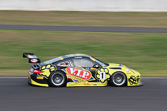 Australian GT Championship - Klark Quinn won the 2013 Australian GT Championship driving a Porsche 911 GT3-R Type 997