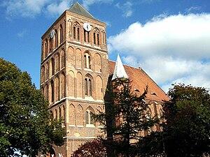 Choszczno - St. Mary's church in Choszczno