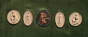 Moissey Kogan - A Selection of medals produced by the artist Moissey Kogan