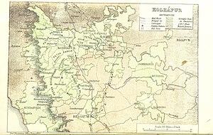 Kolhapur State - Kolhapur 1896