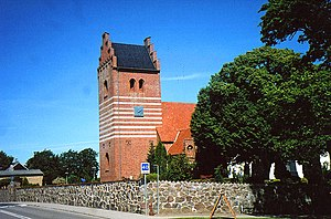 Faxe Municipality - Image: Kongsted Kirke