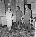 Koningin Juliana, president Nyerere en prins Bernhard op paleis Soestdijk, Bestanddeelnr 917-6729.jpg