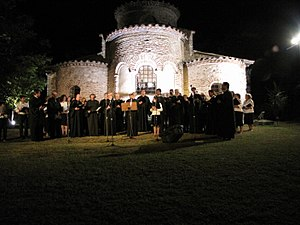 Olympus Festival - Choir at Kontariotissa