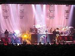 Korn performing live during the Live on the Other Side tour in Milwaukee