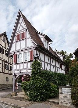 Adlerstraße in Kornwestheim