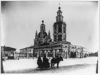 Krasnoyarsk - Church in Krasnoyarsk, 1895