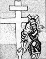 Kreuzabnahme im Fuldaer Sakramentar. Um 975.JPG