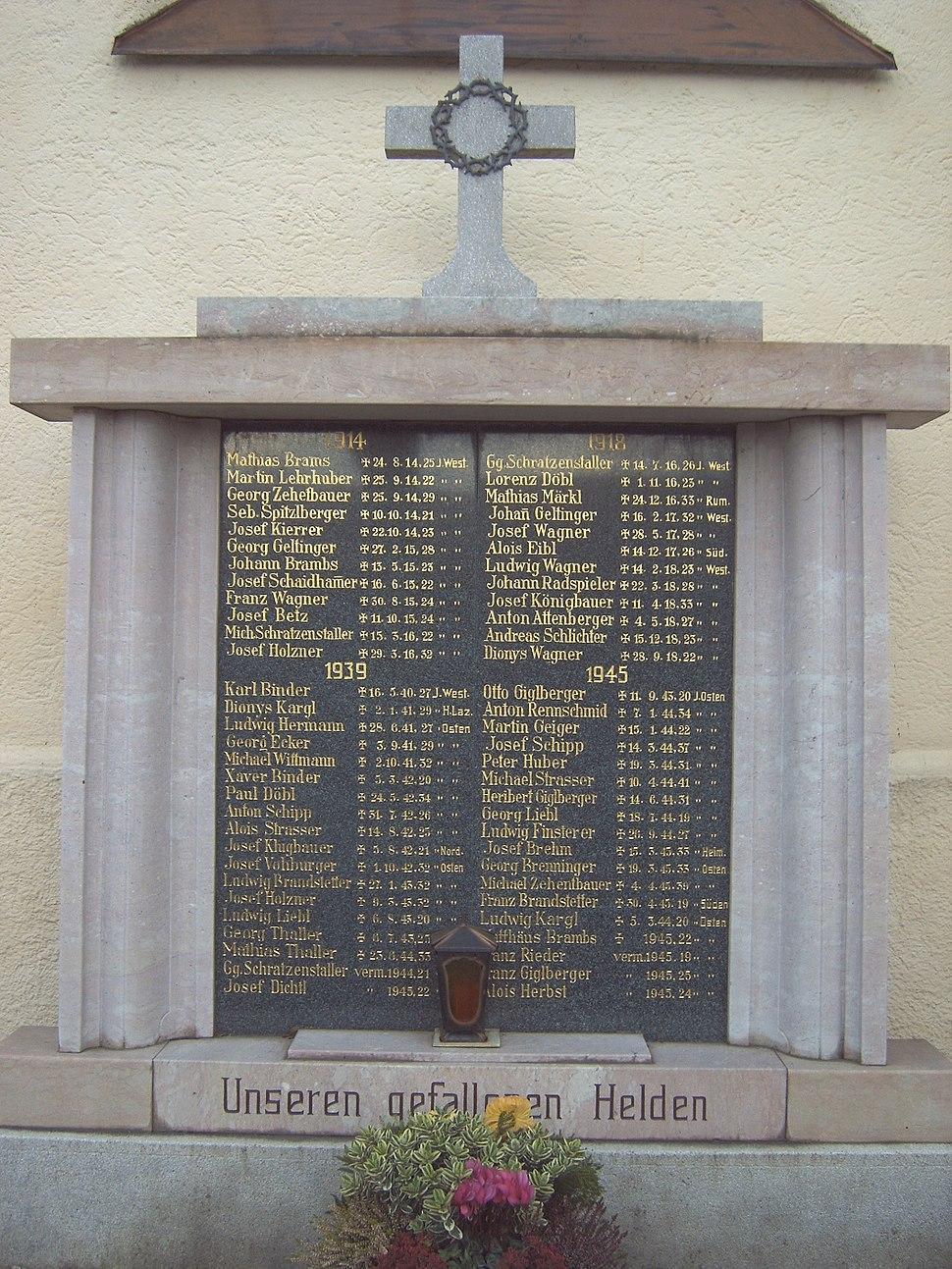 Kriegerdenkmal Dietelskirchen
