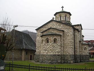 Krupanj - Church of Holy Ascension in the town center