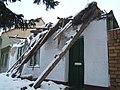 Kuća Servo Mihalja nakon urušavanja krova decembra 2010. godine.jpg