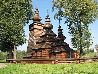 Wooden tserkvas of the Carpathian region in Poland and Ukraine - Kwiatoń, Lemko Greek Catholic church